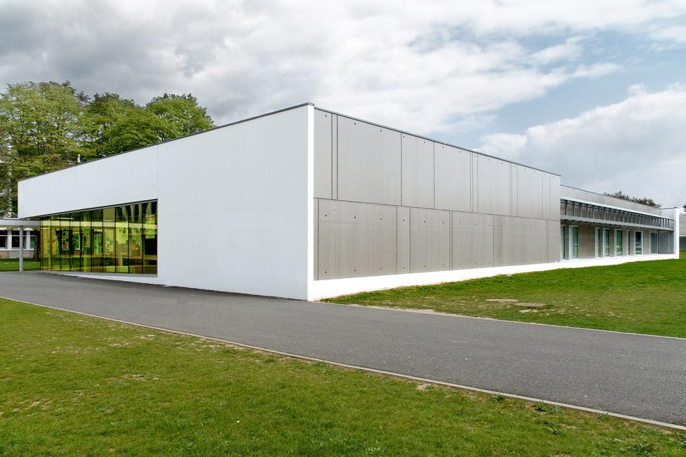 restructuration d 39 un lyc e lorient 56 bohuon bertic architectes. Black Bedroom Furniture Sets. Home Design Ideas