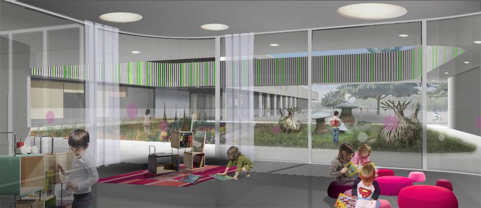 groupe scolaire lorient 56 bohuon bertic architectes. Black Bedroom Furniture Sets. Home Design Ideas