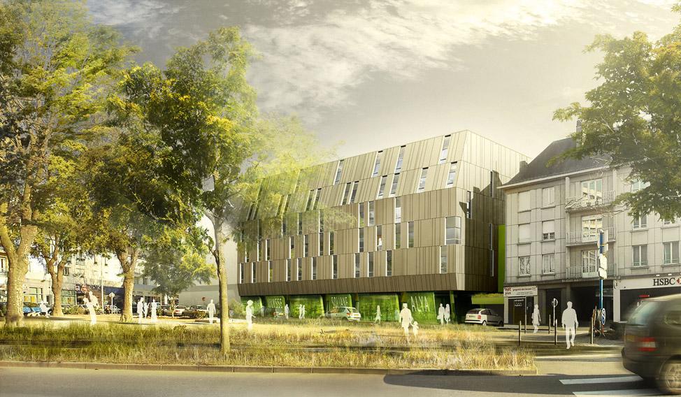 40 logements lorient 56 bohuon bertic architectes. Black Bedroom Furniture Sets. Home Design Ideas