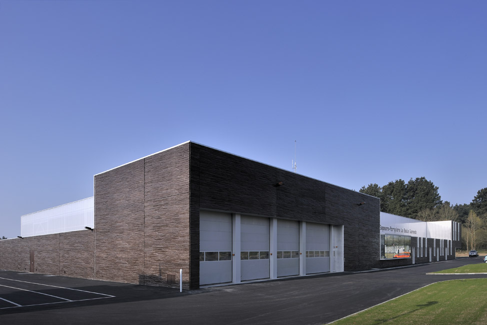Sdis gu rande la baule 44 bohuon bertic architectes for Architecte guerande