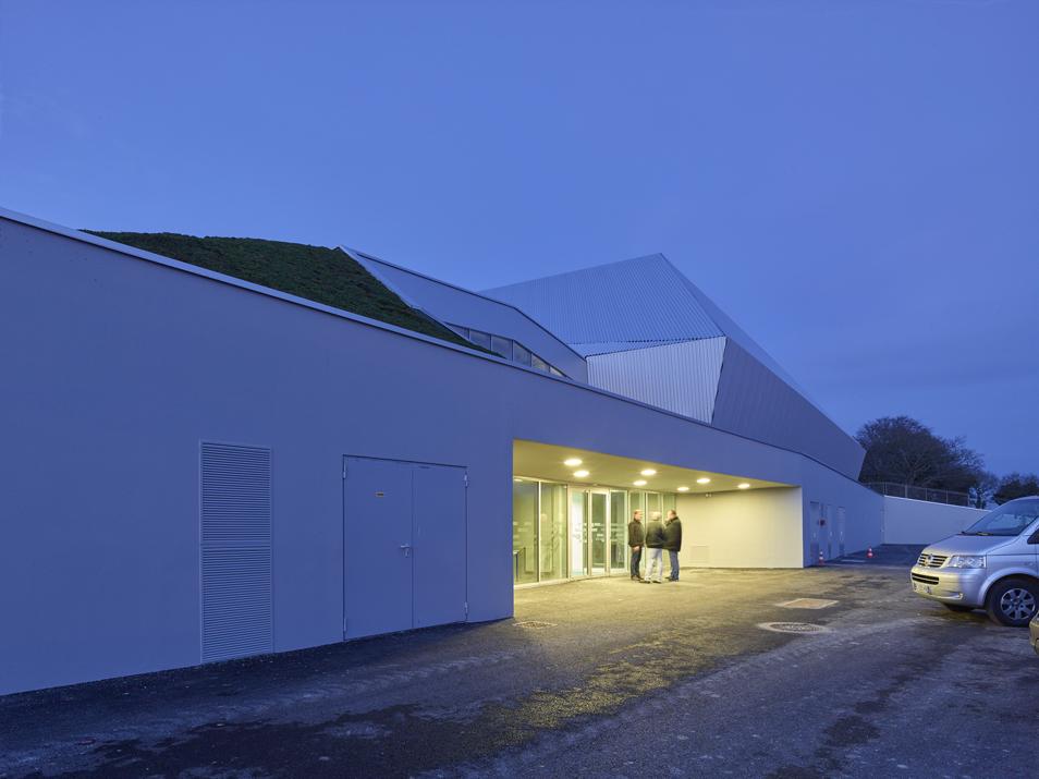 palais des sports loud ac 22 bohuon bertic architectes. Black Bedroom Furniture Sets. Home Design Ideas