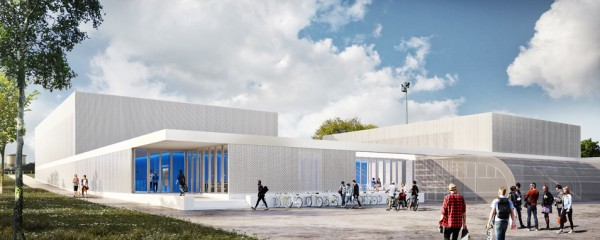 Salle multisports et rénovation d'un gymnase – Vivonne