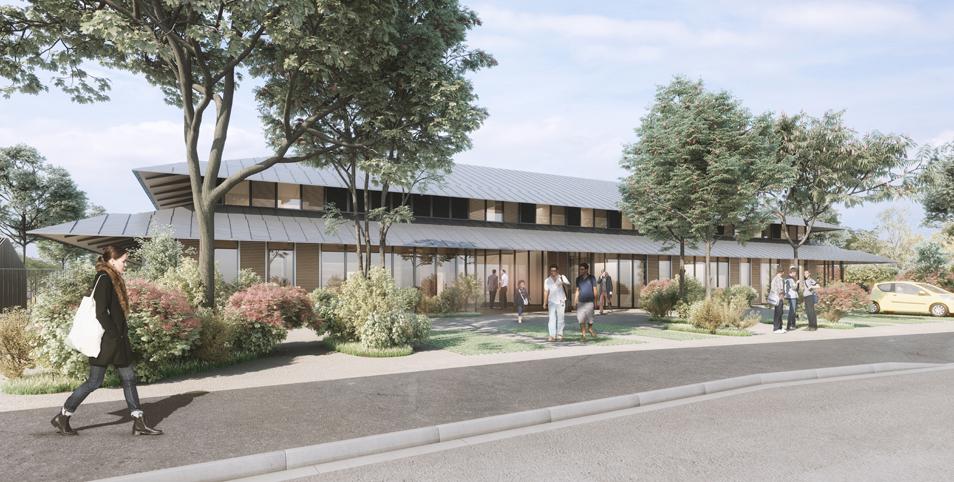 Reconstruction du Centre Départemental Enfance et Famille – Saint Sébastien sur Loire – 44