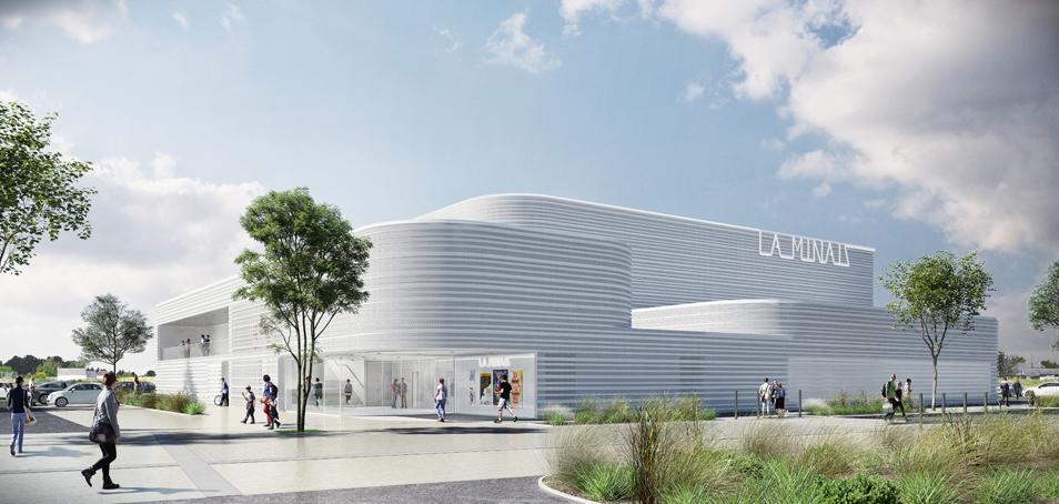 Halle sportive de la Minais – Sainte Luce sur Loire