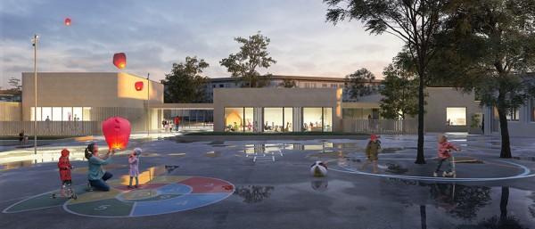 Pôle équipement – Multi accueil – APS/ALSH – Salle polyvalente – Saint Nazaire