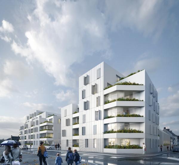 55 logements – Saint Nazaire