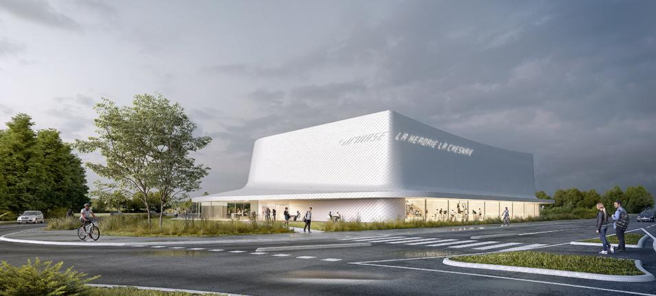 Construction du gymnase de la Herdrie – La Chesnais à Basse Goulaine (44)