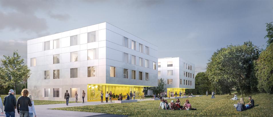 Concours : Construction et rénovation de bâtiments d'habitations étudiantes sur le campus de Brest de l'IMT Atlantique (29)