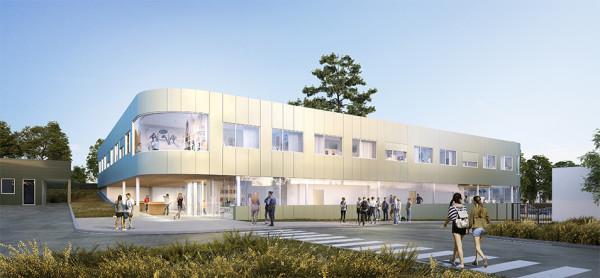 Concours : Construction de l'internat du collège Saint Exupéry à Vannes (56)