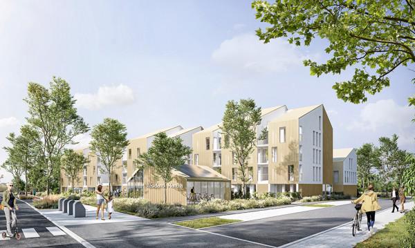 Construction de 51 logements – Avrillé – Zac coeur de Ville – Secteur du LIeru