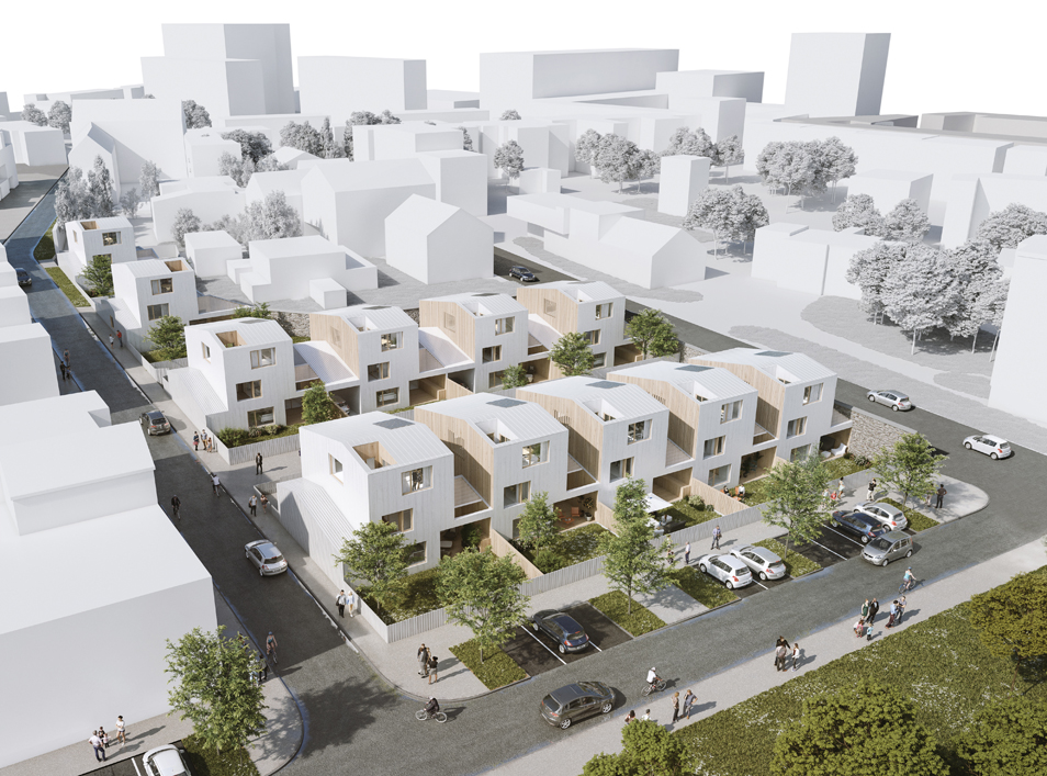 Construction de 11 maisons – Zac bodelio – Lorient (56)