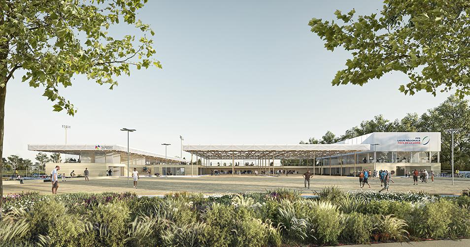 Concours : Réaménagement du complexe sportif Bourgoin Decombe (44)